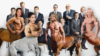 Samantha Bee Turned the Ladies of Late Night Into Ripped Centaurs To Celebrate Some New Arrivals