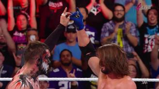 The Bullet Club Reacted To AJ Styles And Finn Bálor's Sweet TLC Match