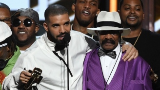 Drake's Dad Got An Enormous Tattoo Of His Son's Face