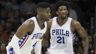 Joel Embiid Will Try To Dunk On Nerlens Noel Every Chance He Gets When Philly Takes On Dallas