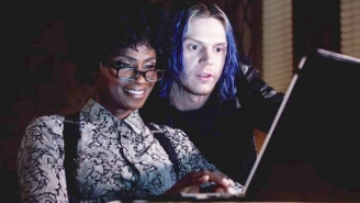 Evan Peters Makes For The Perfect Andy Warhol With His Take On 'American Horror Story: Cult'