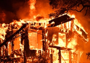 Photos Have Emerged From The Devastating Wildfires In Napa