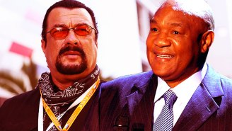 An Incredibly Serious Breakdown of How a Fight Between Steven Seagal and George Foreman Would Play Out