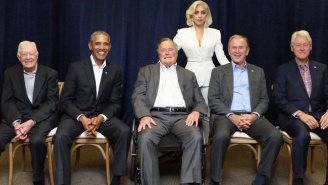 All Five Ex-Presidents Appeared Together Alongside Lady Gaga And Others To Raise Money For Hurricane Relief