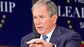 George W. Bush Laments The Rise Of Bigotry And Conspiracy Theories In Trump's America