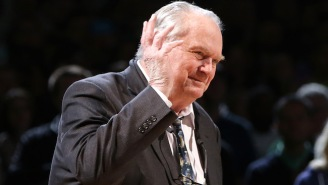 The Celtics Game Got Weird When Tommy Heinsohn Started Talking About Aron Baynes In The Shower