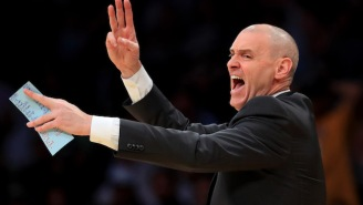 Warriors Rookie Jordan Bell's Alley-Oop To Himself Made Mavs Coach Rick Carlisle Furious