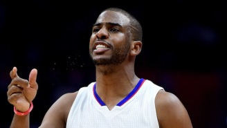 Chris Paul Had A Hilarious Reaction To Andre Roberson Airballing A Three