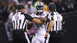 Marshawn Lynch's Contact With An Official Got Him A Suspension From The NFL