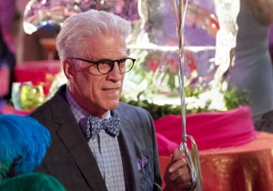 Kneel Before Ted Danson, Comedy God, In A New 'The Good Place'