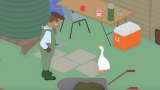This Game About Being A Jerk Goose That Terrorizes A Simple Farmer Looks Sadistic And Brilliant