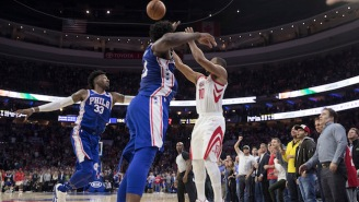 Eric Gordon's Buzzer-Beater Over Joel Embiid Took Down The Sixers
