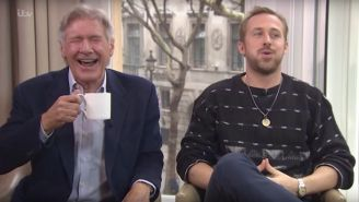 Harrison Ford Has Never Looked Happier Than In This Interview With Ryan Gosling
