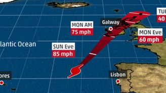 Hurricane Ophelia's Path Places Ireland And The U.K. In An Unusual Position With A Projected Monday Landfall