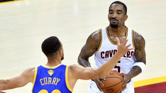 J.R. Smith Wants To Know 'Who's Going To Stretch The Floor' If He's Not Starting For The Cavs
