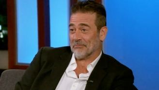 Jeffrey Dean Morgan Does His Best To Dodge Jimmy Kimmel's Questions About Playing Batman In 'Flashpoint'