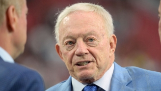Jerry Jones Is Threatening To Bench Any Cowboys Player Who Doesn't Stand For The National Anthem
