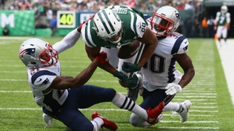 A Controversial Call In The Jets-Patriots Game Cost New York A Touchdown
