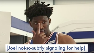 Joel Embiid And The Sixers Got Quizzed About Their 'Space Jam' Knowledge