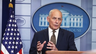 John Kelly Defends Trump's Call To An Army Widow While Trashing Rep. Frederica Wilson For Her 'Selfish' Reaction