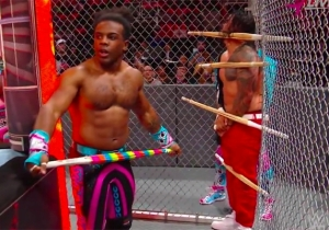 The New Day Vs. Usos Hell In A Cell Match Was Completely Bonkers