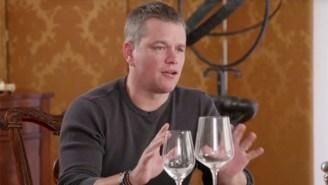 Jimmy Kimmel And Matt Damon Reignite Their Hilarious Feud For Jon Stewart's 'Night Of Too Many Stars'