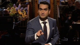 Kumail Nanjiani Uses His 'SNL' Monologue To Tackle His Problems With Race And Ignorant Racists
