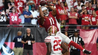 Larry Fitzgerald Beat The Niners With An Unreal Game-Winning Touchdown Grab