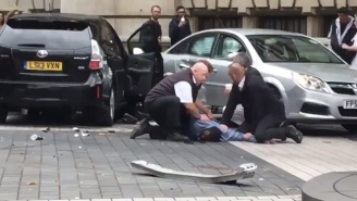 Injuries Have Been Reported In London After A Car Collides With Pedestrians