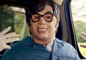 Thanks To 'Baby Driver,' Austin Powers Masks Are Selling Out Ahead Of Halloween