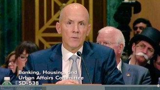 The 'Monopoly Man' Crashed The Former Equifax CEO's Senate Hearing, And People Loved It