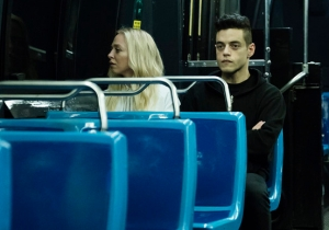 'Mr. Robot' Delivers A Scathing Monologue On Trump And Society In Its Season Premiere