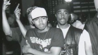 The Photographer Who Took The Only Photo Of Nas With Tupac In Existence Wanted To Crop Nas Out