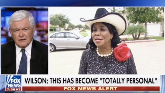 Newt Gingrich Bizarrely Slams Unqualified People Who 'Win Elections' To Insult Frederica Wilson On Fox News
