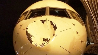 The Oklahoma City Thunder Were Quite Shaken After Their Plane Hit Something In The Air Mid-Flight