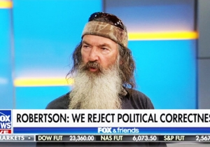 Phil Robertson Of 'Duck Dynasty' Thinks Just Because Americans Can Protest Doesn't Mean They Should