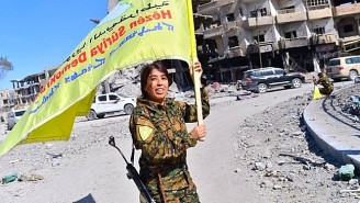 U.S.-Backed Forces Have Liberated The Syrian City Of Raqqa From ISIS Control