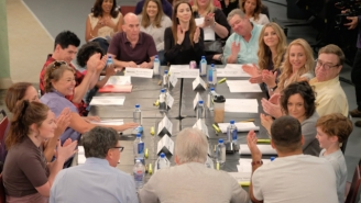 This Peek At The First 'Roseanne' Revival Table Read Will Make You Feel Warm And Fuzzy