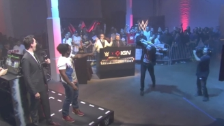 Cesaro Destroyed Another Beach Ball At WWE's First Ever eSports Showdown