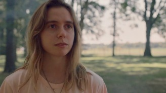 Julien Baker's 'Turn Out The Lights' Video Is A Fiery Chase Through The Wilderness