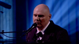 Billy Corgan Enlisted A String-Quartet To Bring His Mournful Solo Track 'Aeronaut' To Life On 'Fallon'