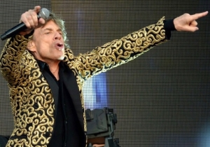 Mick Jagger May Be Rockstar Cool, But His Dad Jokes Are Still Groaners