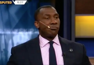 Shannon Sharpe Enjoyed A Victory 'Cigar' On TV And The Internet Lost It