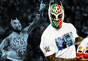 Sin Cara On Being A Super Hero, Wearing His Own Custom Sneakers, And His Latino Heat Heritage