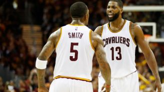 J.R. Smith Is Frustrated He Got Benched So Dwyane Wade Can Start For The Cavs