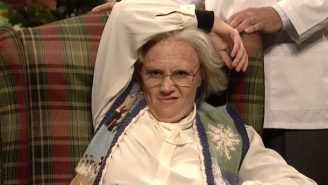 Kate McKinnon Doesn't Even Need To Say A Word To Be A Star In This Creepy Nursing Home 'SNL' Sketch
