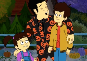 David S. Pumpkins Returns In The Halloween Spirit In This Clip From His 'SNL' Animated Special