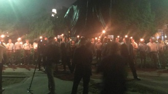 White Supremacists Led By Richard Spencer Returned To Charlottesville For A Brief Flash Mob