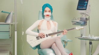St. Vincent Gets Some Extreme Plastic Surgery In Her Colorful 'Los Ageless' Video