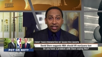 Stephen A. Smith Reminded Everyone How Much He Hates Marijuana On 'First Take'